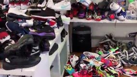 Cleaning company gives sneakers to people in need following unrest in Philly