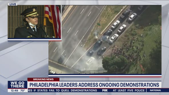 Outlaw on I-676 clash: 'When we deploy tear gas it's for a purpose'