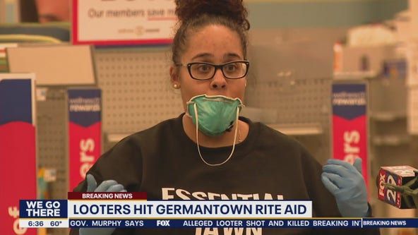 Community outraged as looters hit Rite Aid in Germantown