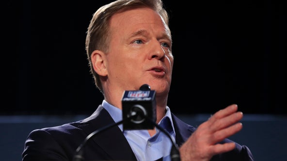 'We were wrong for not listening': Roger Goodell encourages NFL players to 'peacefully protest'