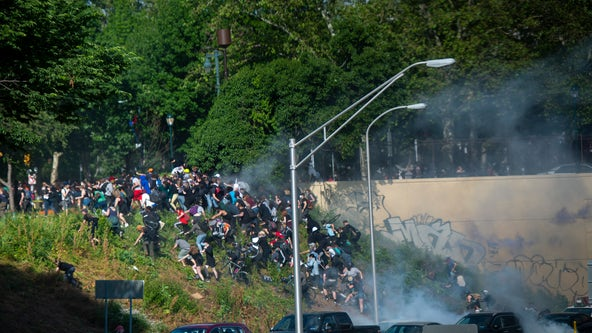 Commissioner on I-676 clash: 'When we deploy tear gas it's for a purpose'