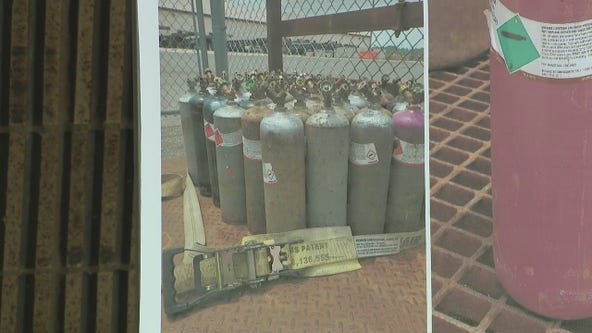 Police: Gas canisters stolen from inside Philly business