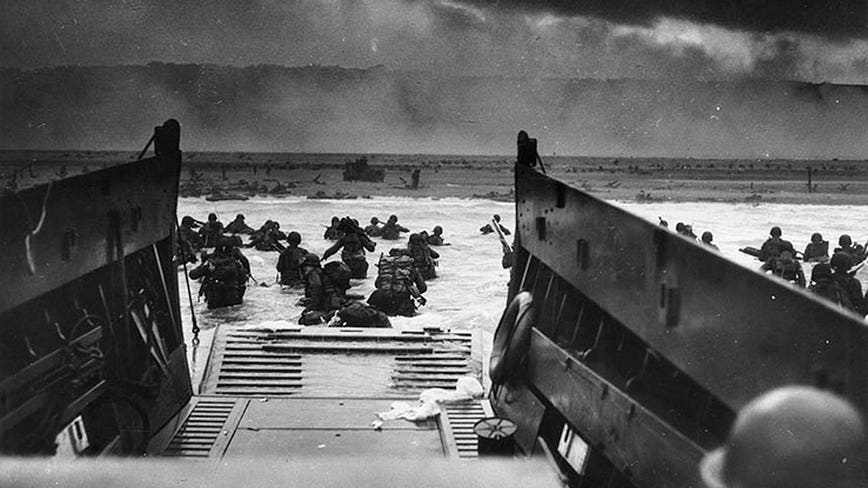 Coronavirus pandemic makes for a lonely D-Day observance in Normandy
