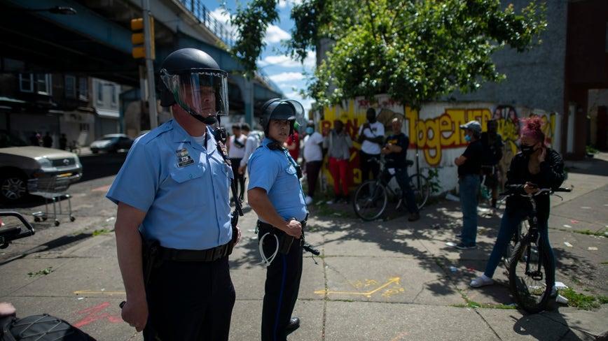 Commissioner Outlaw: 429 arrests, 18 officers injured in weekend violence around Philadelphia