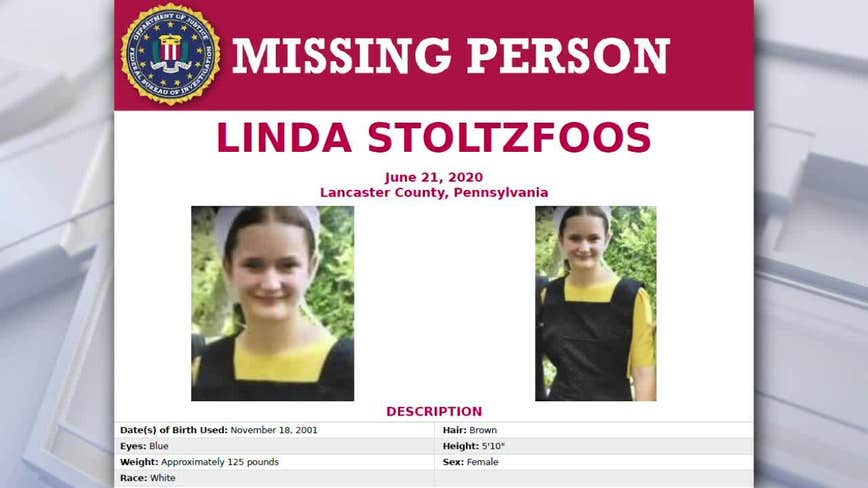 FBI extends $10k reward in search for Amish teen missing from Lancaster County