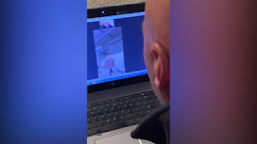 'I miss you': Man sings via video chat to father suffering from dementia, dying of COVID-19
