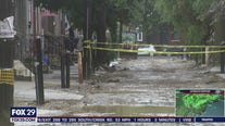 Ongoing road project causes basement flooding in South Philadelphia