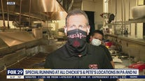 Chickies and Petes donates french fries to front line workers