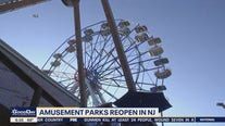 Amusement parks reopen in New Jersey
