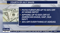 Deals, like the weather, are hot this Fourth of July