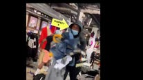 Police look to identify suspects in looting at City Blue Store
