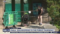 Philadelphia Zoo gets ready to reopen Thursday