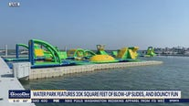 Margate inflatable water park opens Saturday