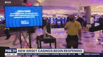 Casinos reopen in New Jersey amid pandemic
