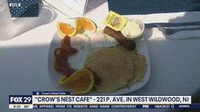 Breakfast with Bob: Bob Kelly visits Crow's Nest Cafe in West Wildwood