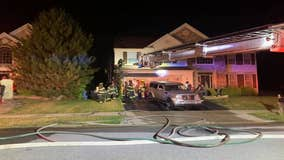 Fireworks ignite landscaping, cause house fire in New Castle