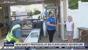 New Safety protocols have been put in place at Six Flags Great Adventure