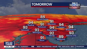 Weather Authority: Heatwave continues Monday