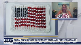 Social distancing friendly foods for the Fourth of July