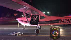 Young pilot dubbed #ExeterSully after safely landing plane on Route 422