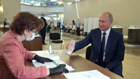 Russia voters agree to extend Putin's rule to 2036