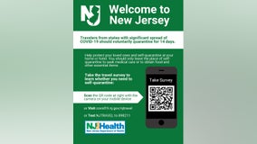 New Jersey to offer survey to visitors from high-risk states