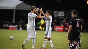 Union advance to 'MLS is Back' knockout stage with 2-1 win over Miami