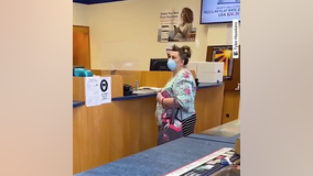 VIDEO: White woman throws fit, spews racial slur at Asian postal worker in Los Altos