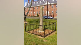 Delaware remove whipping post display from state grounds