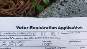 Deceased cat gets voter registration application in the mail