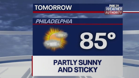 Weather Authority:  Partly sunny, humid Thursday