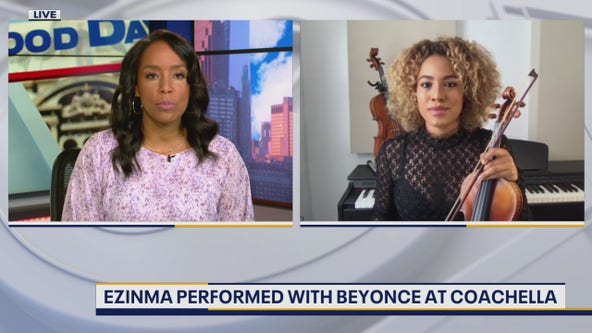 Violinist Ezinma joins Good Day Weekend