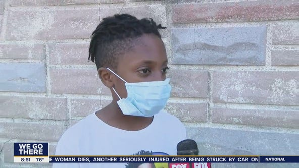 South Philly 10 year old starts lemonade stand to save for college