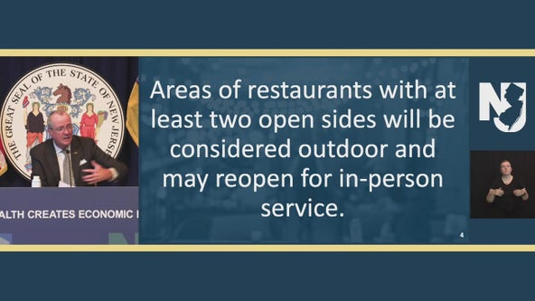 NJ expands definition of 'outdoor dining' to include establishments with two open sides