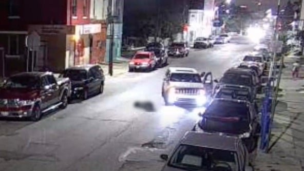 Police release video of car sought in Kensington hit-and-run after victim possibly struck twice
