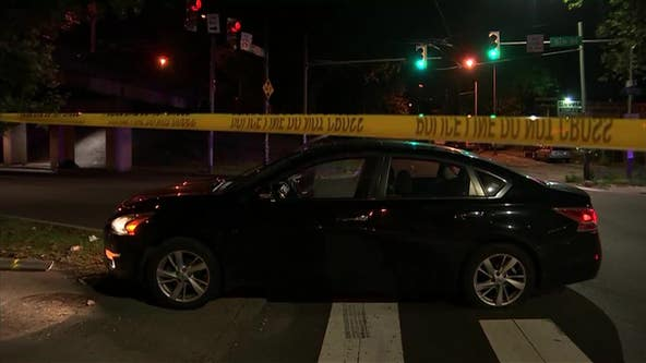 Man fatally shot while sitting in passenger seat of car in Olney