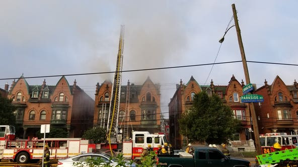 West Philadelphia house fire displaces nine families