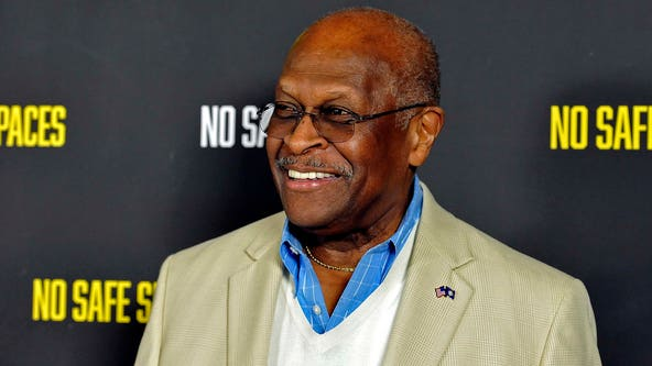 Former Republican presidential candidate Herman Cain in hospital after testing positive for COVID-19