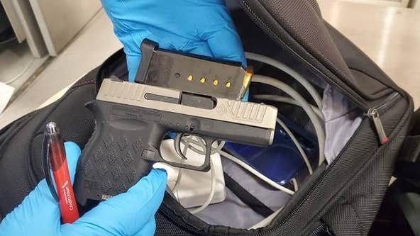 TSA finds loaded handgun in Philadelphia man's carry-on bag