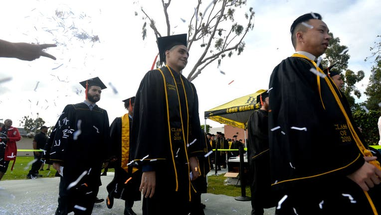 CSULB graduation ceremony for the college of engineering