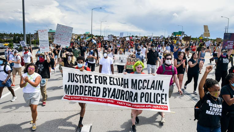 52a0ba14-Rally Held In Colorado Demanding Justice For Elijah McClain