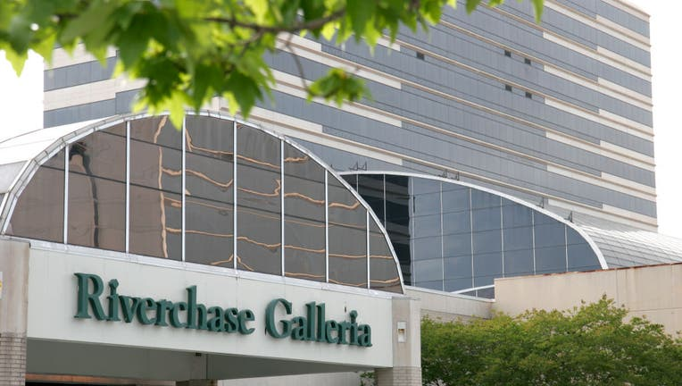 The entrance to Riverchase Galleria Mall.