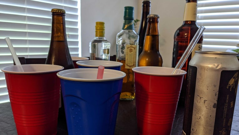 alcohol solo cups wtvt