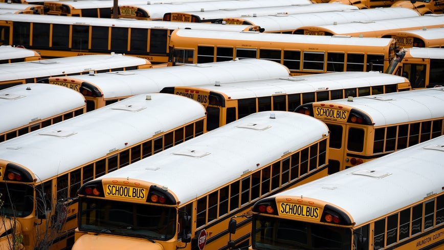 Buses pose particular challenge for schools' coronavirus pandemic plans