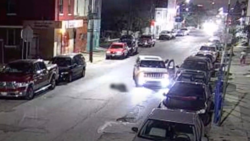 Police release video of SUV sought in Kensington hit-and-run after victim possibly struck twice