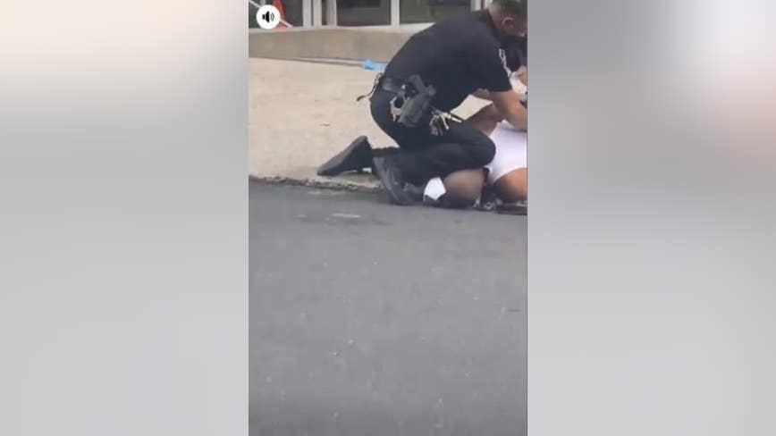 DA to investigate video showing Allentown police officer kneeling on man during arrest