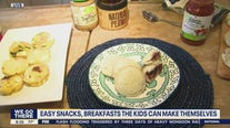 Easy snacks and breakfasts kids can make themselves
