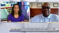 Philadelphia Housing Authority issues eviction moratorium