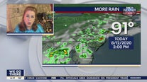 Weather Authority: Scattered rain, cooler temperatures slated for region