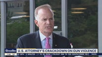 US Attorney William McSwain pledges crackdown on gun violence